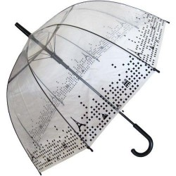 Parapluie cloche transparent paris