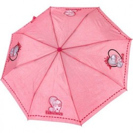 Parapluie pliant Barbie rose