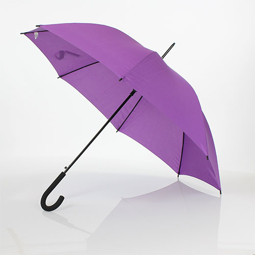 parapluie droit automatique violet pas cher rue du parapluie. Black Bedroom Furniture Sets. Home Design Ideas