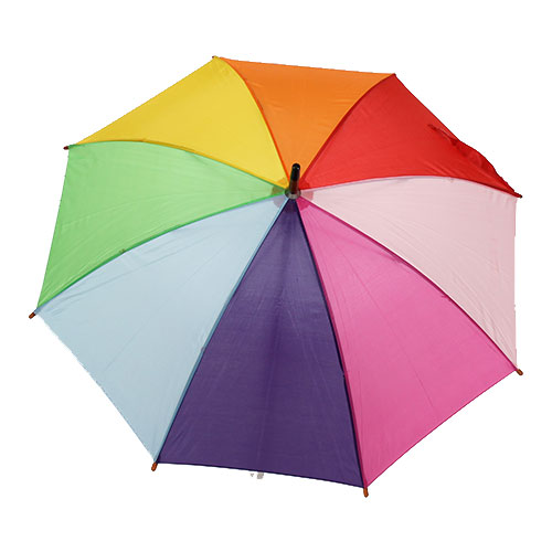 Parapluie enfant multicolore poisson clown