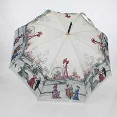 Parapluie canne Paris 1900