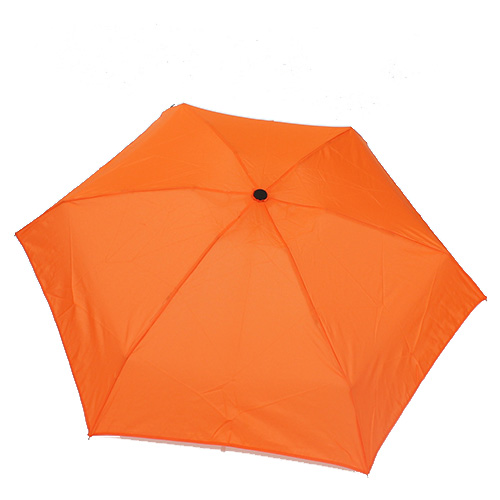 Petit parapluie ultra léger orange