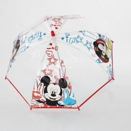 Parapluie transparent cloche Mickey