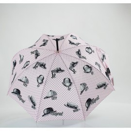 Parapluie chantal Thomass je te tire mon chapeau