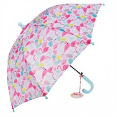 Parapluie enfant flamants roses