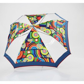 Parapluie octogonal semi transparent Ayrens