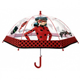 Parapluie cloche transparent Miraculous