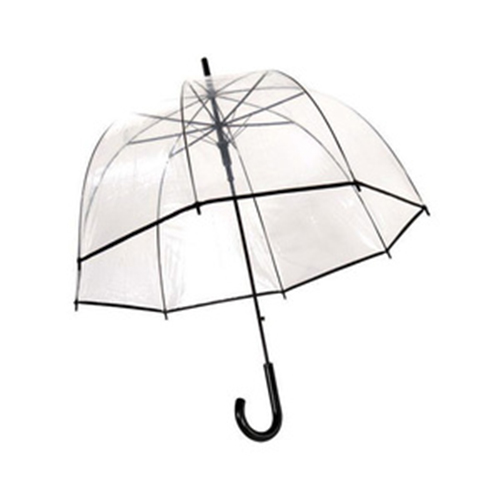 Grand parapluie cloche transparent
