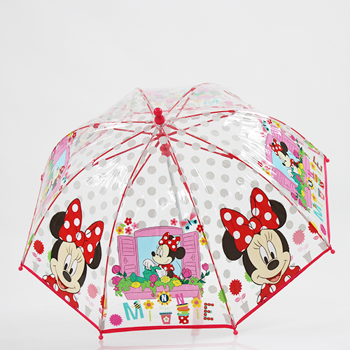 Parapluie cloche transparent Minnie édition Noel 2017