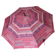 Grand parapluie rose i feel good