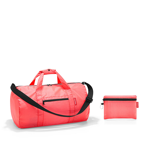 Petit sac de sport pliable orange