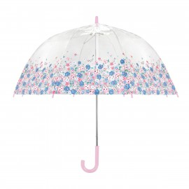 Parapluie cloche transparent liberty petite fille