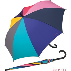 Parapluie automatique long Esprit multicolore