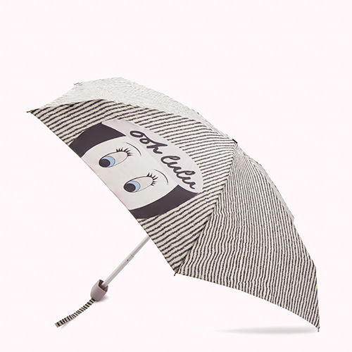 Parapluie superslim fantaisie par Lulu Guinness