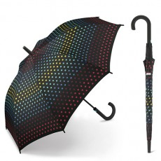 Grand parapluie Esprit pointillés multicolores