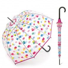 Parapluie transparent cloche nuages multcolores Benetton Edition 2020