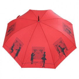 Parapluie canne rouge romances Chantal Thomass